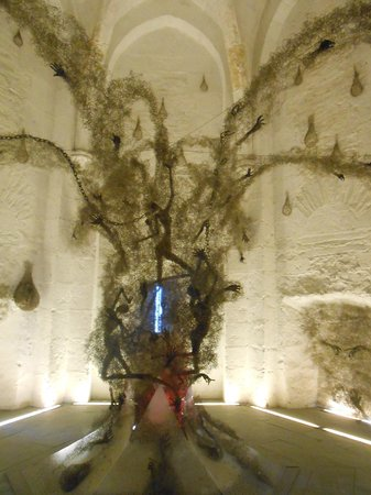 """Castle of Angers: """"Les aveux de la pierre"""" de Pascal di Peri"""