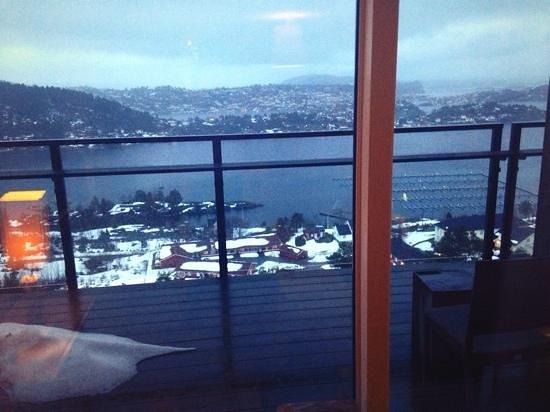 Kragero Resort : utsikt fra rom