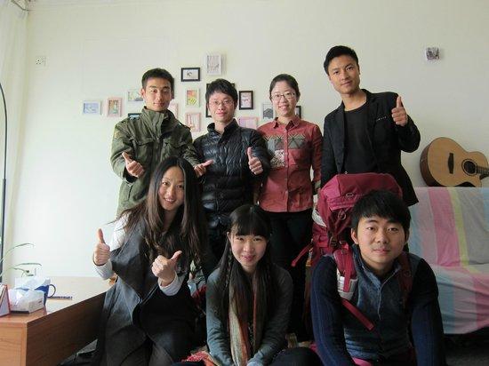 11 Shiguang Youth Hostel: 欢乐合照