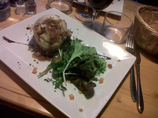 Mères et Filles: Parmentier de canard et sa petite salade, comme à la maison, hummmm !