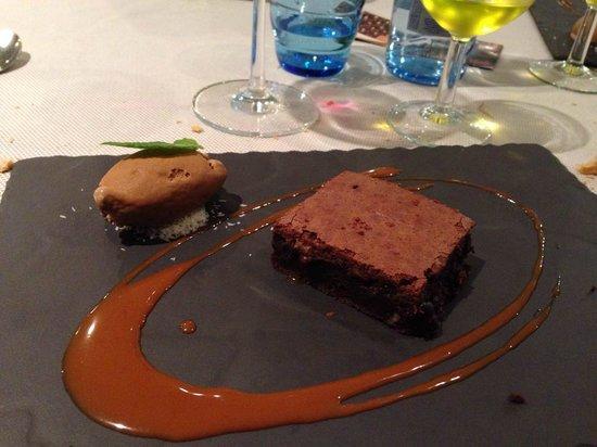Casino d'Argentona: Sabrosísimo brownie