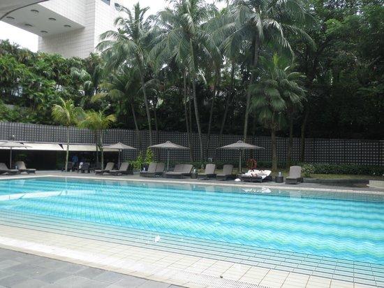 The Ritz-Carlton, Millenia Singapore : A fantastic pool area