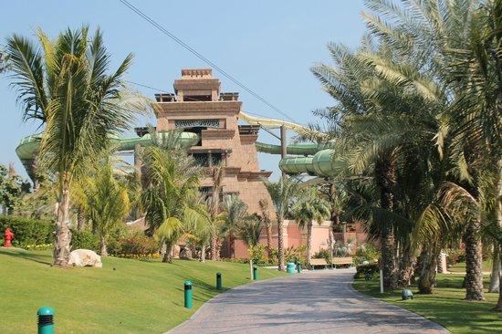 Aquaventure Waterpark: Башня Посейдона