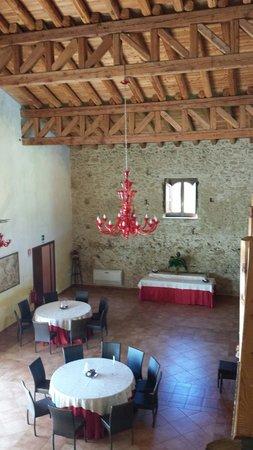 Villa D'andrea: Sala pranzo