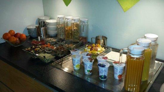 Hotel Lün: Frühstücksbuffet