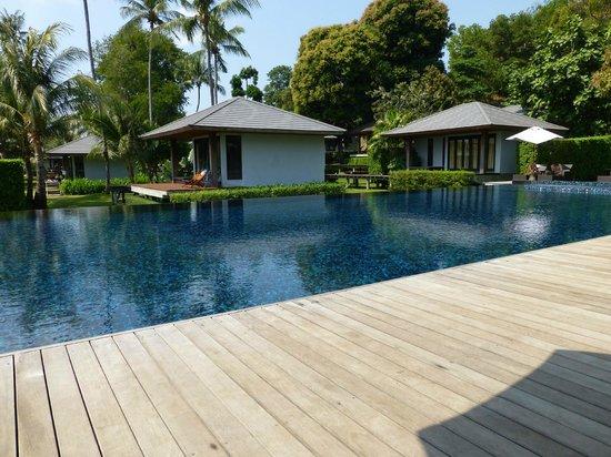 Plubpla Koh Mak Retreat: Utsikt från poolen