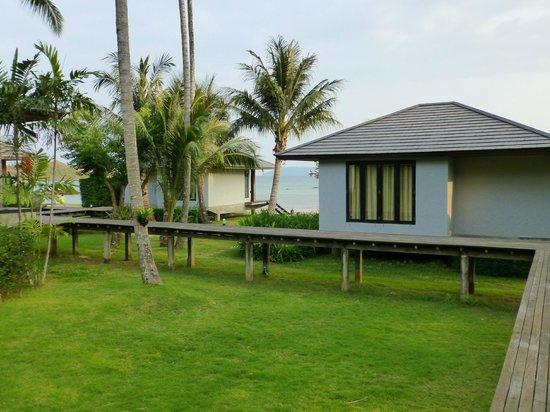 Plubpla Koh Mak Retreat: Utsikten från vår bungalow