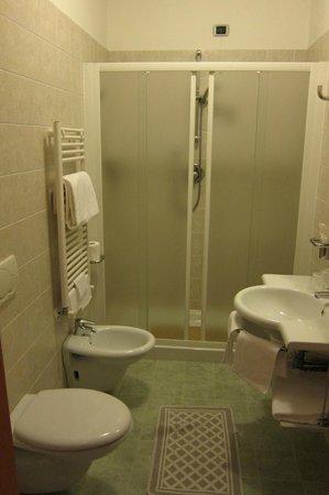 Dolomiti Hotel: bathroom