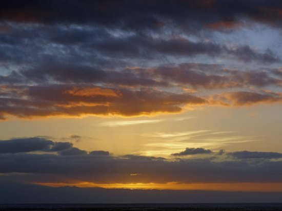 Spring Arona Gran Hotel: stunning sunset
