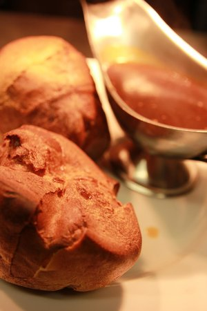 The Shadforth Plough: Homemade yorkshire puddings with meat gravy