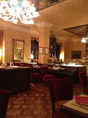 Grand Hotel Duchi D'Aosta: Ristorante