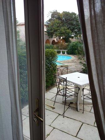 BEST WESTERN L'Orangerie: c'est sympa tant que la porte est fermée