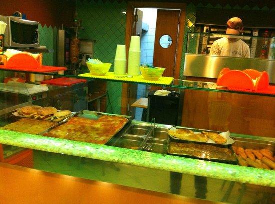 Bancone - Picture of Gyros Pizzeria Fast Food, Manduria - TripAdvisor