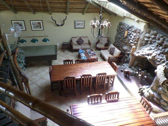 Pezulu Tree House Game Lodge : Aufenthaltsraum (Abendessen und Frühstück, sonstiges)