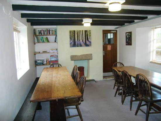 YHA Boswinger: dining/reception room