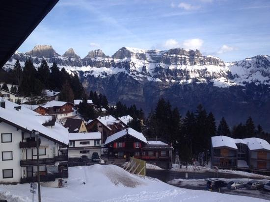 Hotel Mittenwald: view from front of hotel