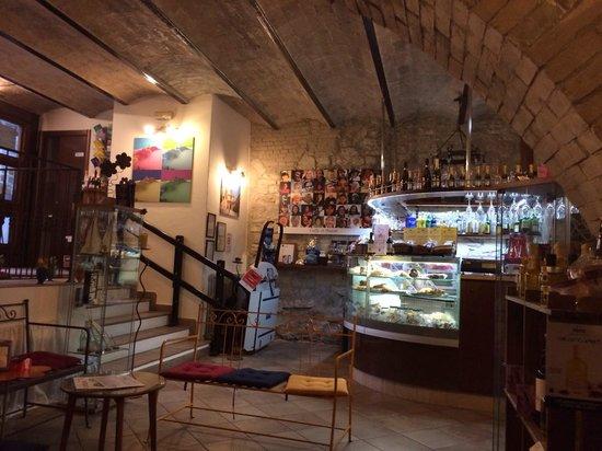 Hosteria Nova Baccanale Cafe : Ingresso