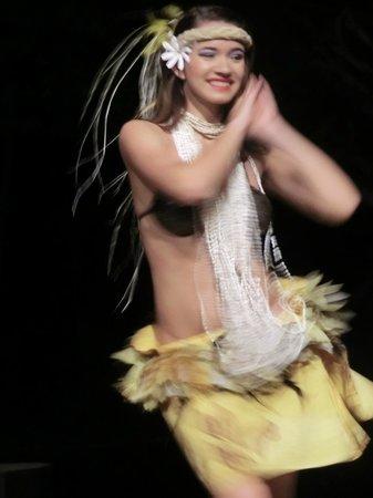 Smith Family Garden Luau: dancer