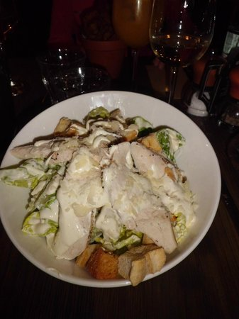 Darcy's: Awesome Chicken Caesar Salad