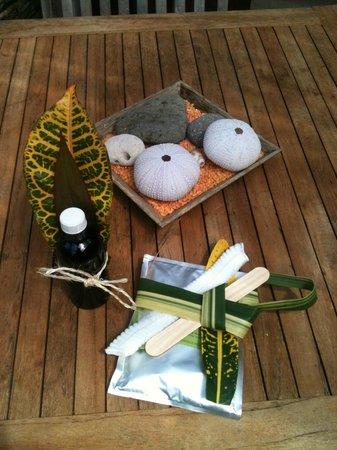 Residence Orcea : Huile de massage, un joli cadeau à faire ou à se faire ;)
