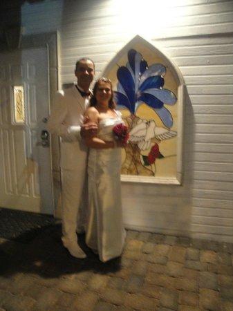 A Storybook Wedding Chapel: Enfim casados!