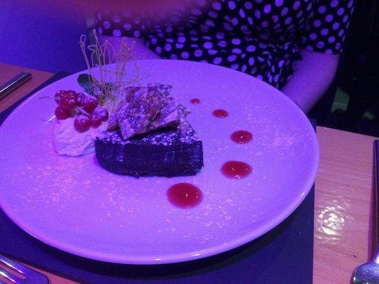 Gwesty Cymru: Chocolate torte