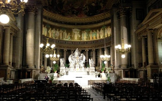 La Madeleine: Impressive Altar Work and Carvings