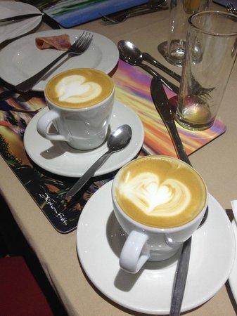 African Perfection Jeffreys Bay : Café-da-manhã perfection