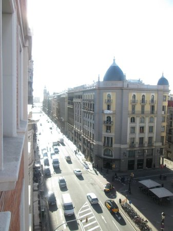 H10 Montcada Boutique Hotel: View from our room!