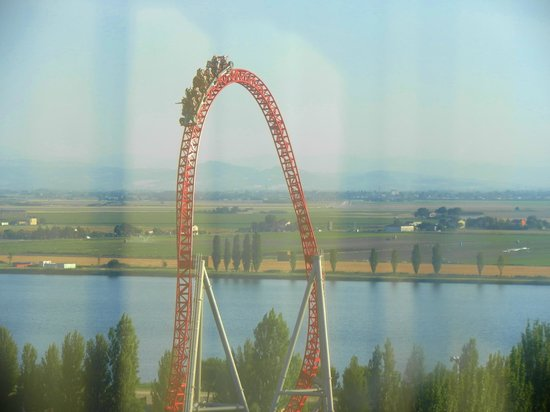 Mirabilandia: i speed roller coaster