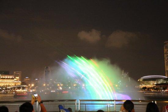 Wonder Full Light and Water Show: Rainbow Water
