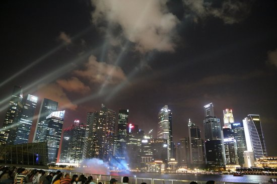 Spectra- A Light And Water Show: View from MBS 2