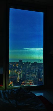 Melia Barcelona Sky: View from the 17th floor