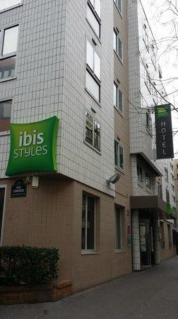 Hotel ibis Styles Paris Tolbiac Bibliotheque: esterni