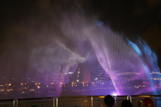 Spectra- A Light And Water Show: Projection