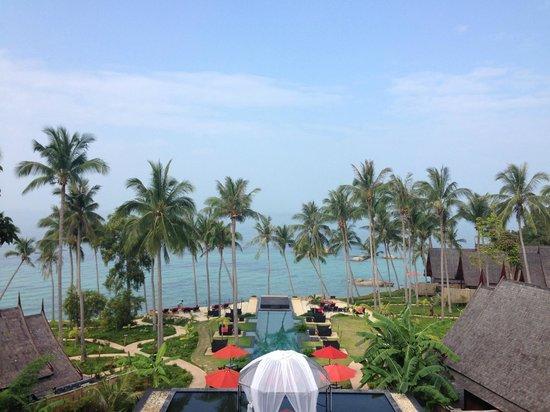 Jamahkiri Spa: Beach view