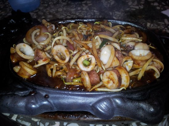 Tan Sam Guan Seafood : Sizzling Seafood
