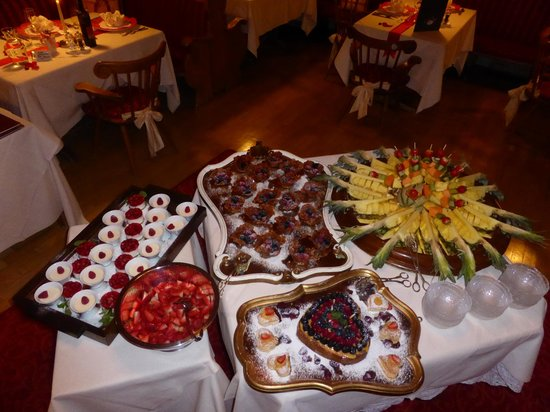 Hotel Dorfer: Valentins Dessert