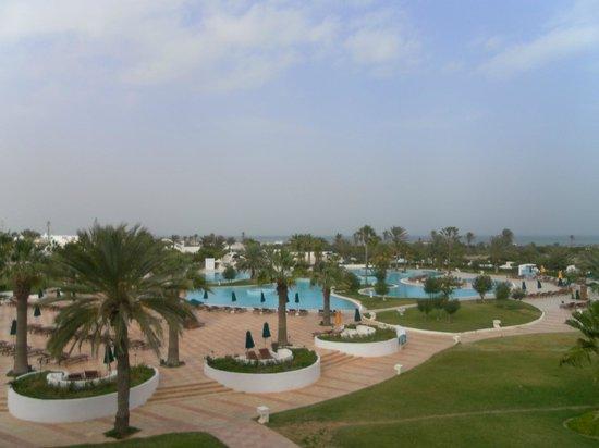 Djerba Plaza Hotel & Spa: Vue de la chambre