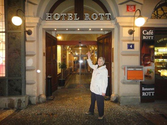 Rott Hotel Прага