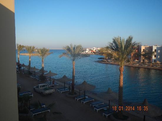 Arabia Azur Resort: uitzicht vanuit de kamer