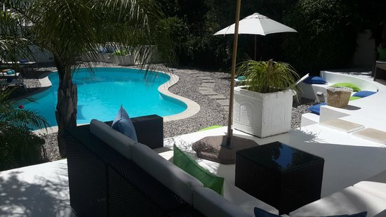 AfricanHome Guesthouse: Poolbereich