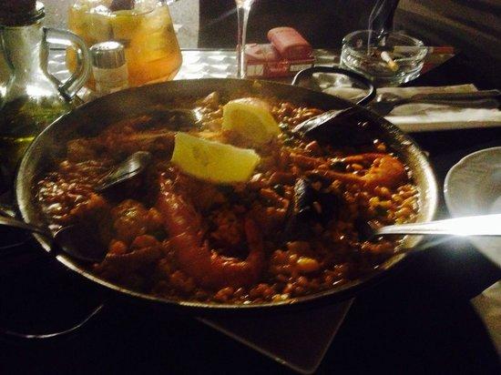 Passeig 9: Mixed Paella ... Einfach nur Super...