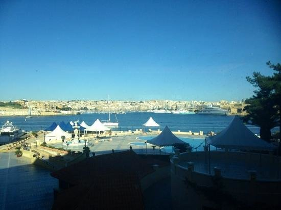 Excelsior Grand Hotel: view from the restaurant