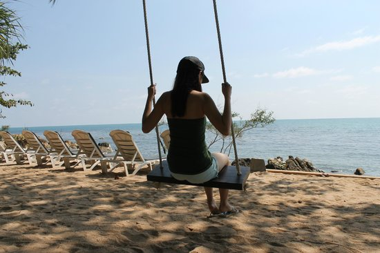Bhundhari Spa Resort & Villas Samui: Awesome private beach area