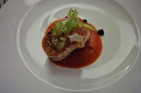 The Cambrian : Tuna from the four course menu