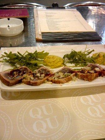 Restaurante Qu-Qu : Tuna Titaki