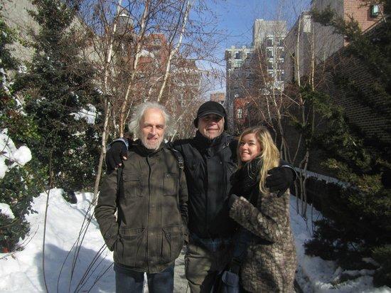 Manhattan Walking Tour: at the highline