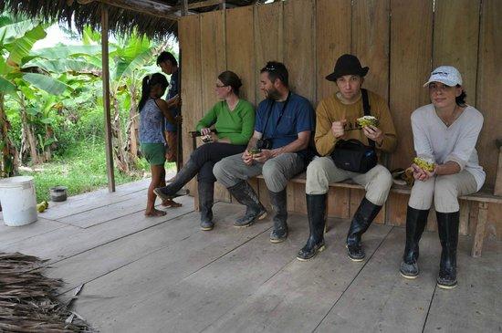 Amazon Yanayacu Lodge : это все - кто тут жил
