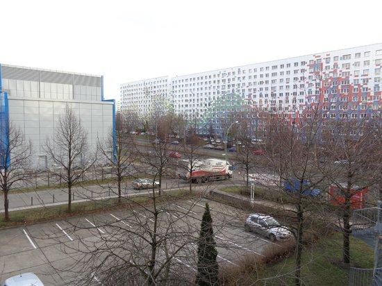 Holiday Inn Berlin City East : A vista do primeiro andar